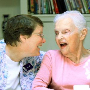 Care Haven Homes, nurse Kim shares a favorite memory with Mary