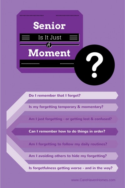 Senior Moments - Early Signs of Alzheimer's-infograph