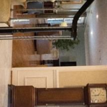 Alzheimer's care home hallway & living room